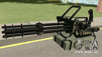 Minigun HQ für GTA San Andreas