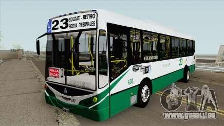 Linea 23 Metalpar Iguazu II Agrale MT15 Interno pour GTA San Andreas