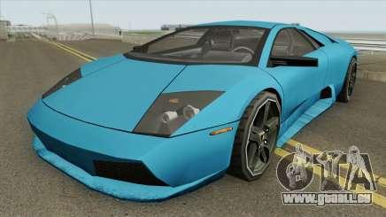 Lamborghini Murcielago 2008 (SA Style) pour GTA San Andreas