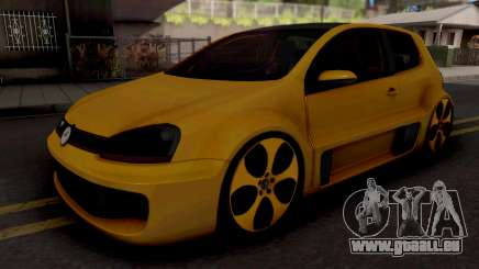 Volkswagen Golf GTI W12-650 pour GTA San Andreas