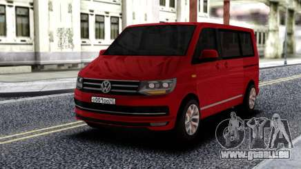 Volkswagen Caravelle Red pour GTA San Andreas
