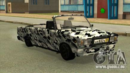 2107 Camouflage. pour GTA San Andreas