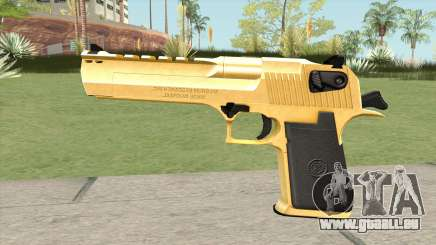 Desert Eagle Gold (HQ) pour GTA San Andreas