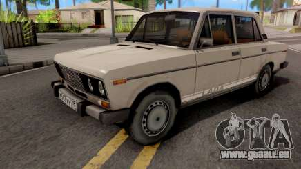 VAZ-2106 Blanc pour GTA San Andreas