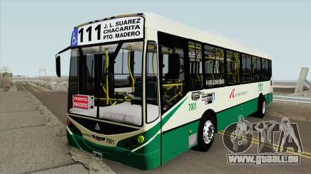 Linea 111 Metalpar Iguazu II Agrale MT15 Interno pour GTA San Andreas