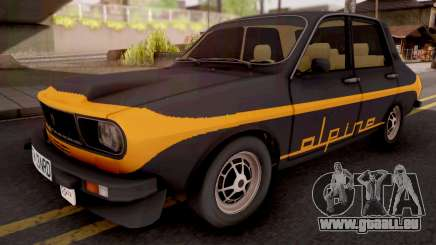Renault 12 Alpine Black pour GTA San Andreas