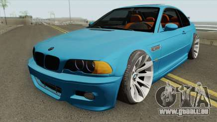 BMW M3 E46 SlowDesign 2006 pour GTA San Andreas