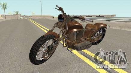 Western Motorcycle Rat Bike V2 GTA V für GTA San Andreas