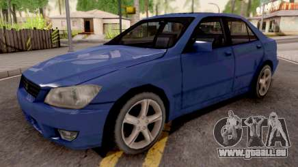 Lexus IS 300 2001 pour GTA San Andreas