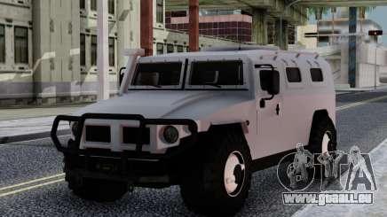 GAZ 23304 pour GTA San Andreas