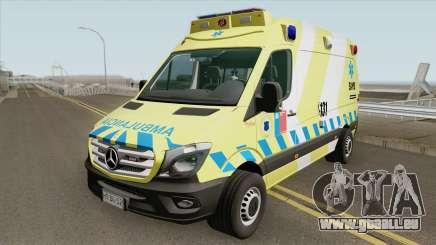Mercedes-Benz Sprinter Facelift (SAMU Metropoli) für GTA San Andreas
