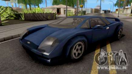Infernus GTA VC für GTA San Andreas