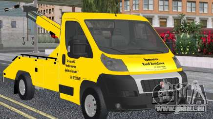 Fiat Ducato Road Asisstance Yellow für GTA San Andreas