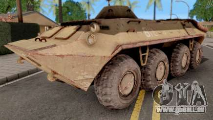 BTR 70 from S.T.A.L.K.E.R pour GTA San Andreas
