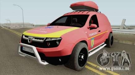 Dacia Duster - Pompierii 2010 für GTA San Andreas