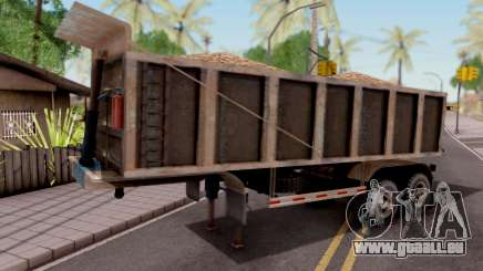 Trailer Volco (Desgastado) pour GTA San Andreas