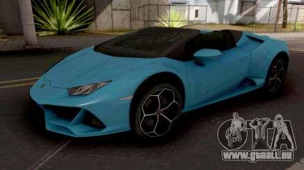 Lamborghini Huracan EVO Spyder pour GTA San Andreas