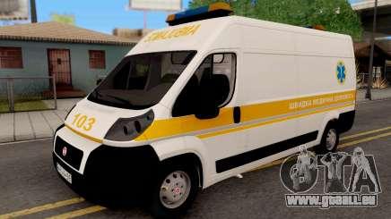 Fiat Ducato Ukraine Ambulance für GTA San Andreas