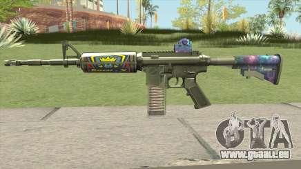 M4 (Ticket Skin) pour GTA San Andreas