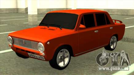 Rouge VAZ 2101 Tuning pour GTA San Andreas