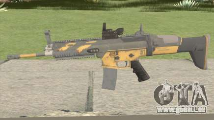 PUBG Nagant SCAR-L Anniversary pour GTA San Andreas