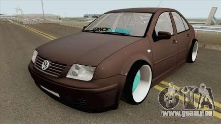 Volkswagen Bora Stance HQ pour GTA San Andreas