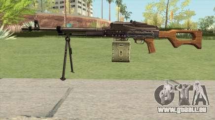 CSO PKM Machine Gun für GTA San Andreas