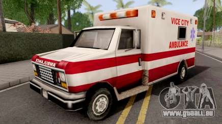Ambulance GTA VC für GTA San Andreas