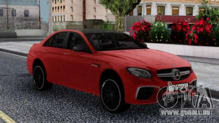 Mercedes-Benz E63s FIX für GTA San Andreas