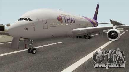 Airbus A380-800 (Thai Airways Livery) pour GTA San Andreas
