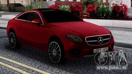 Mercedes-Benz E400 W213 Coupe RED pour GTA San Andreas