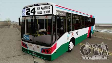 Linea 24 Todobus Pompeya II Agrale MT15 Interno pour GTA San Andreas