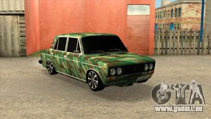VAZ 2106 Berline Camouflage pour GTA San Andreas