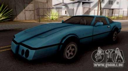 Banshee GTA VC Blue pour GTA San Andreas
