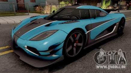Koenigsegg One:1 2015 für GTA San Andreas