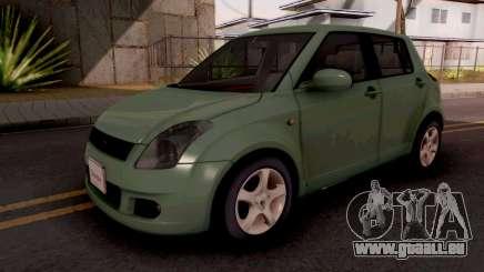 Suzuki Swift Green pour GTA San Andreas