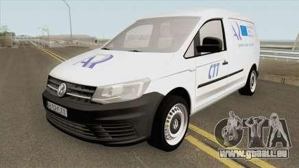 Volkswagen Caddy Registrul Auto Roman 2016 pour GTA San Andreas