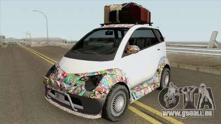 Benefactor Panto GTA V (SA Style) für GTA San Andreas
