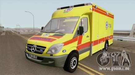 Mercedes-Benz Sprinter V2 (Magyar) pour GTA San Andreas
