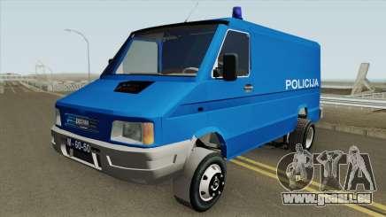 Zastava Daily 35B Yugoslavia Police für GTA San Andreas