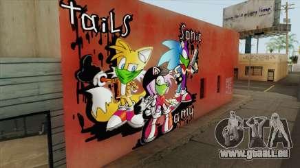 Sonic Wall Graffiti für GTA San Andreas