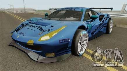 Ferrari 488 GT3 2018 pour GTA San Andreas