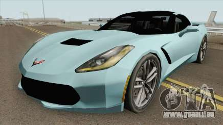Chevrolet Corvette C7 Stingray (SA Style) pour GTA San Andreas