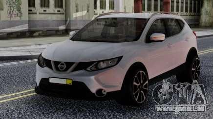 Nissan Qashqai 2016 White für GTA San Andreas