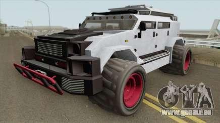 HVY Menacer GTA V HQ pour GTA San Andreas