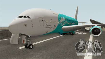 Airbus A380-800 (HiFly Livery) pour GTA San Andreas