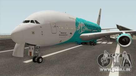Airbus A380-800 (HiFly Livery) für GTA San Andreas