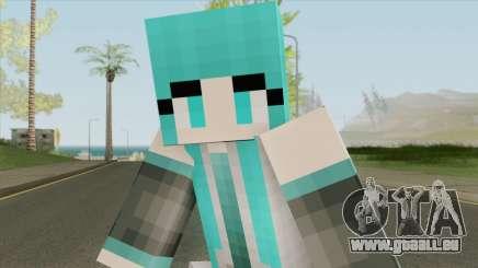 Hatsune Miku (Minecraft) pour GTA San Andreas