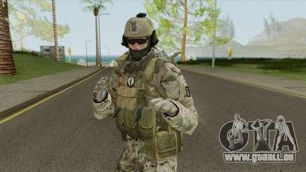 Skin Comando 601 Multicam Ejercito Argentino pour GTA San Andreas