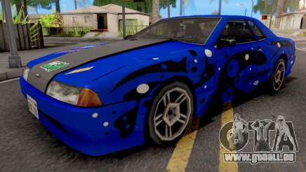 Blue Elegy Paintjob pour GTA San Andreas